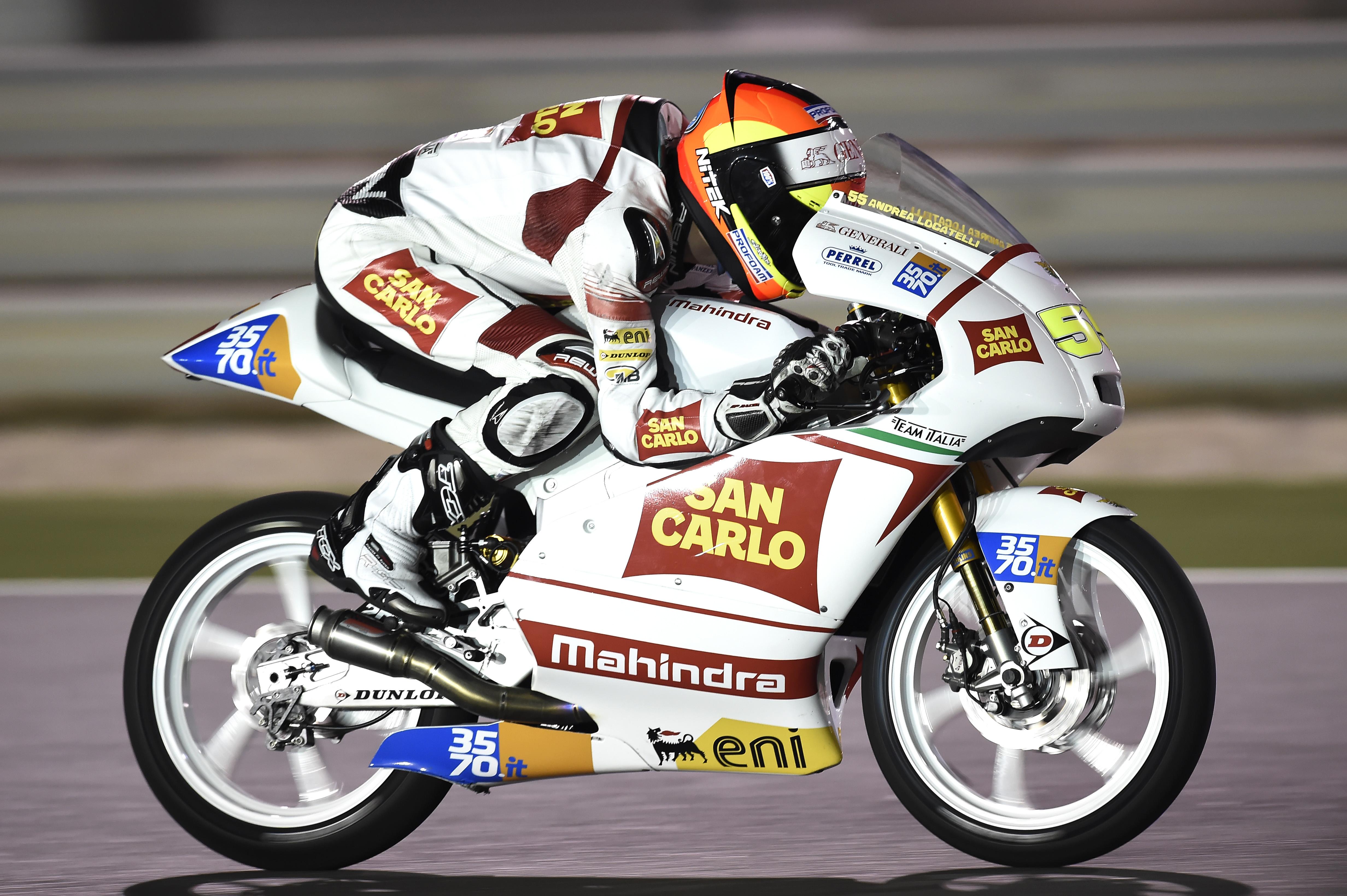 Moto3: il San Carlo Team Italia in Texas per il secondo round