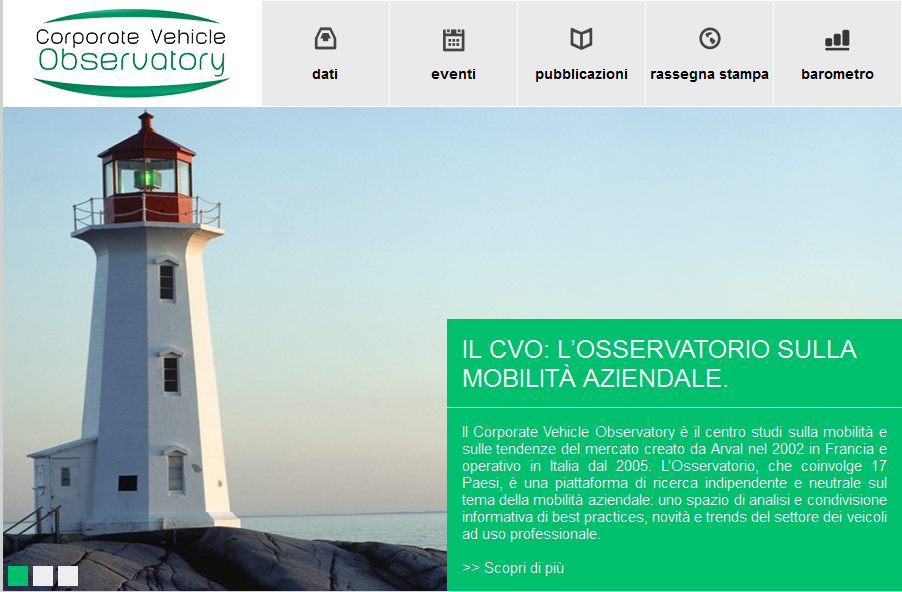 Online il sito CVO di Arval Italia