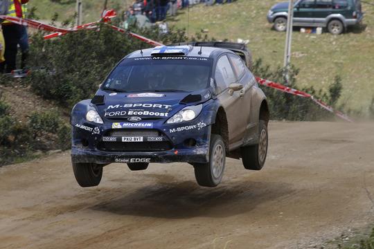 Portogallo: podio Sparco con Hirvonen