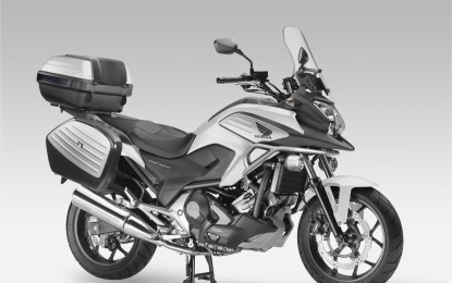 Nuova Honda NC750X Travel Edition