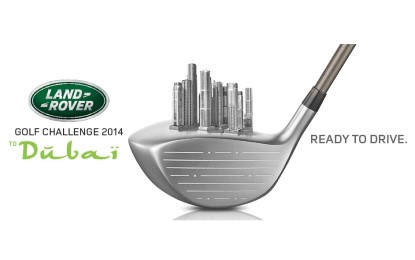 Land Rover Golf Challenge to Dubai 2014