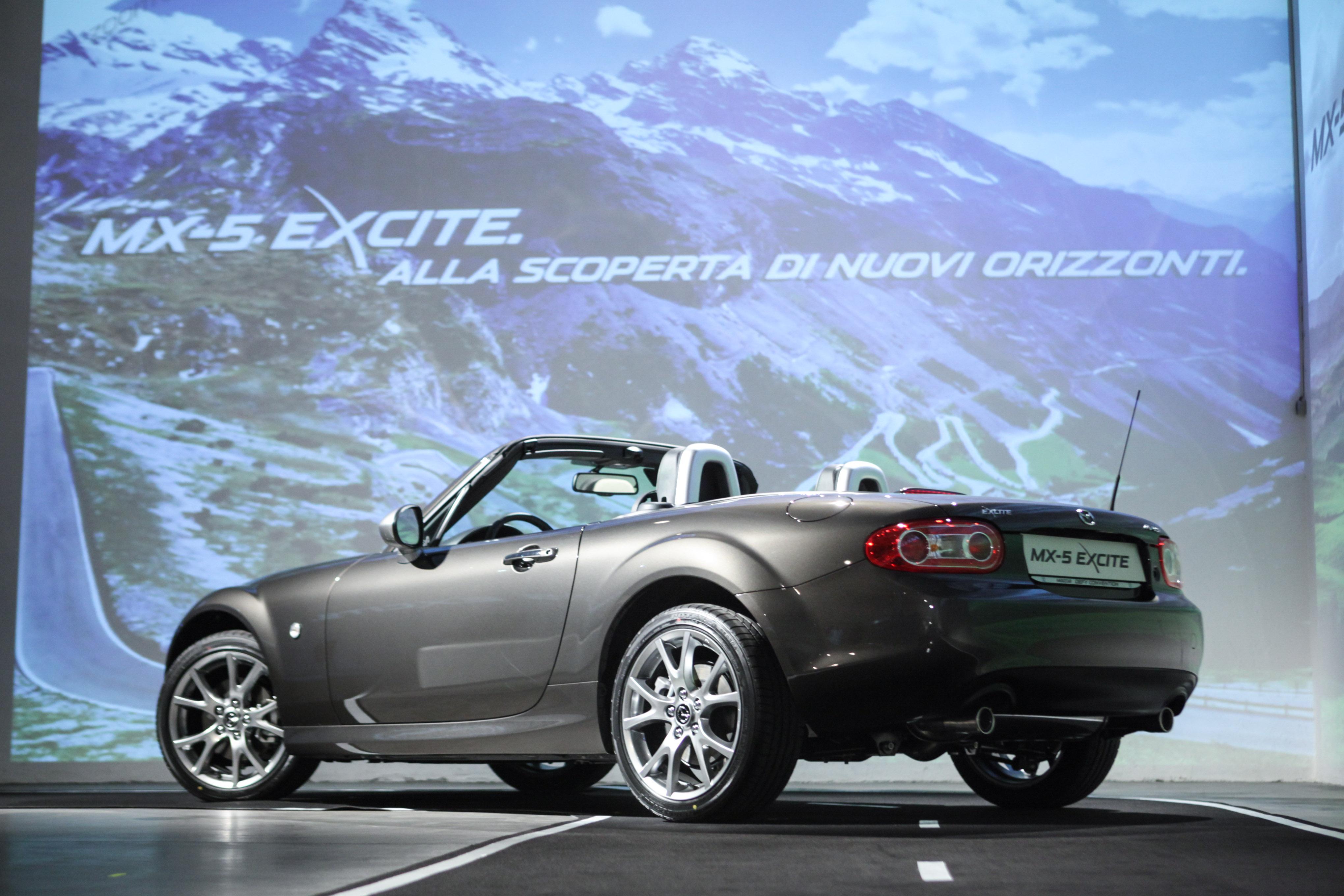 Nuova Mazda MX-5 Excite