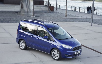 Nuovo Ford Tourneo Courier: best in class