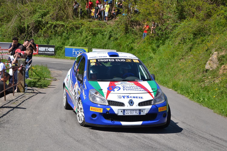 Renault al 1° Rally Elba Internazionale