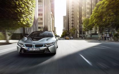 BMW i8: prime consegne a giugno