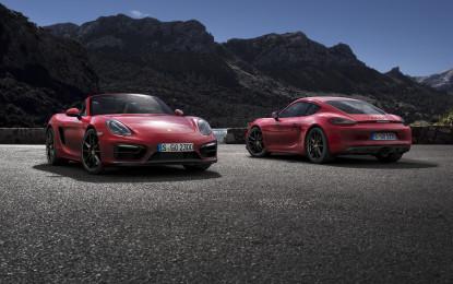 Boxster GTS e Cayman GTS anteprima a Pechino