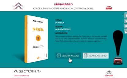 """CITROËN e Indiana Editore per """"Librinviaggio"""""""
