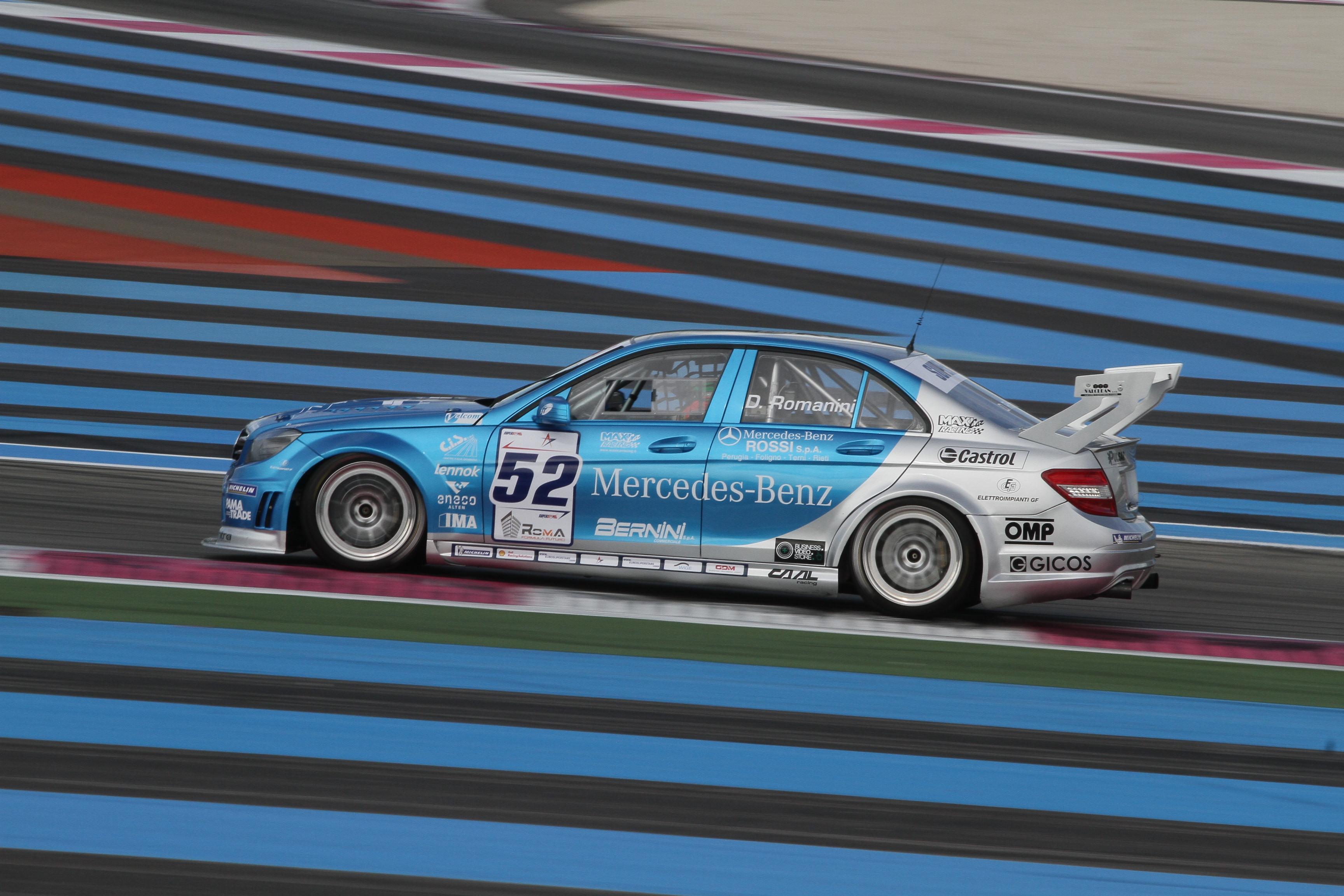 Romanini e Baccarelli con CAAL Racing nell'EUROV8