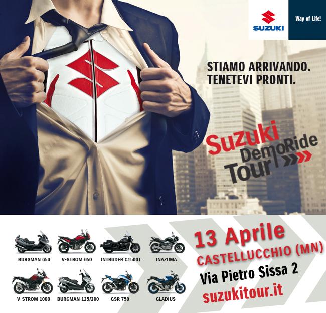 Suzuki Demo Ride Tour 2014