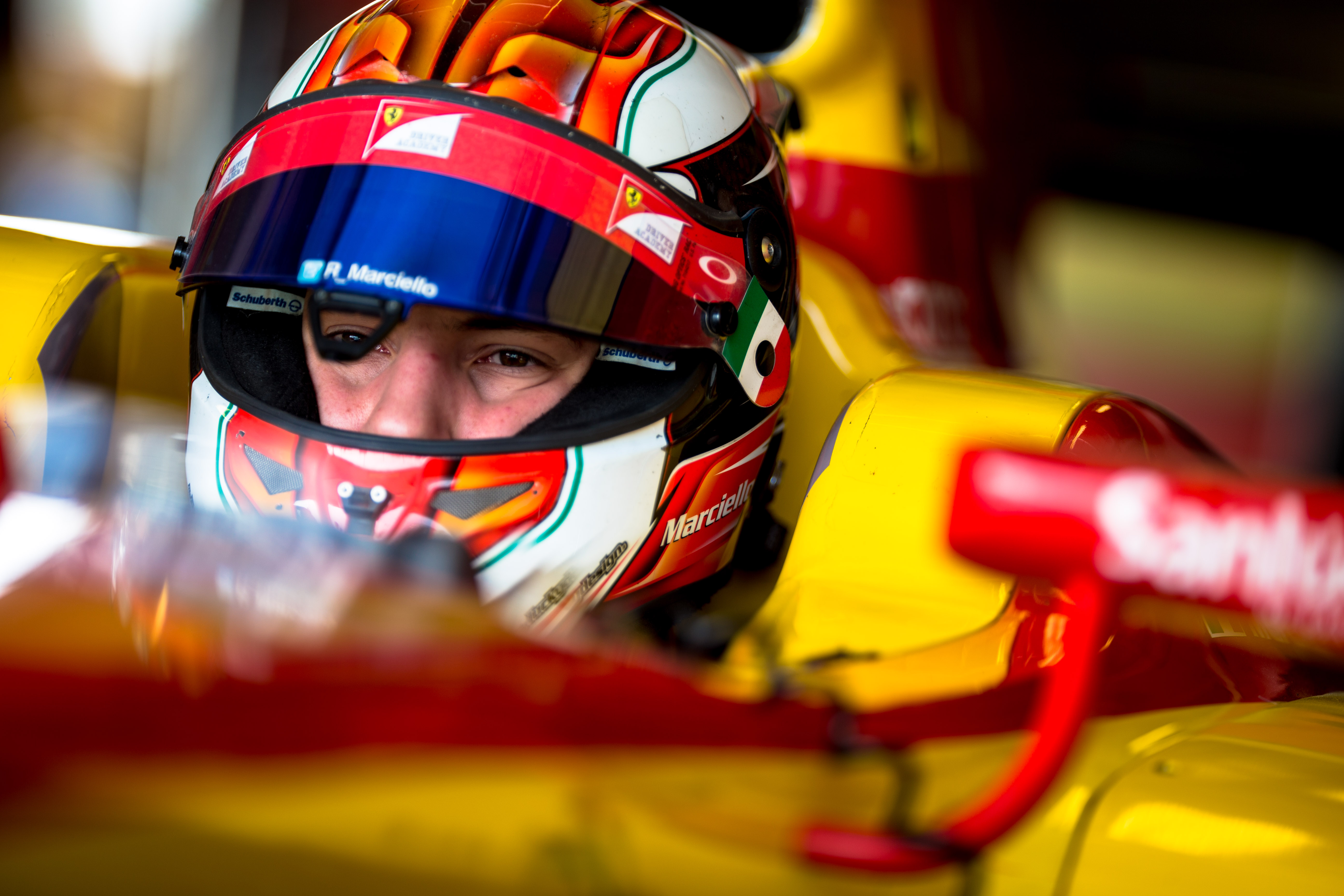 Marciello ai nastri di partenza in GP2