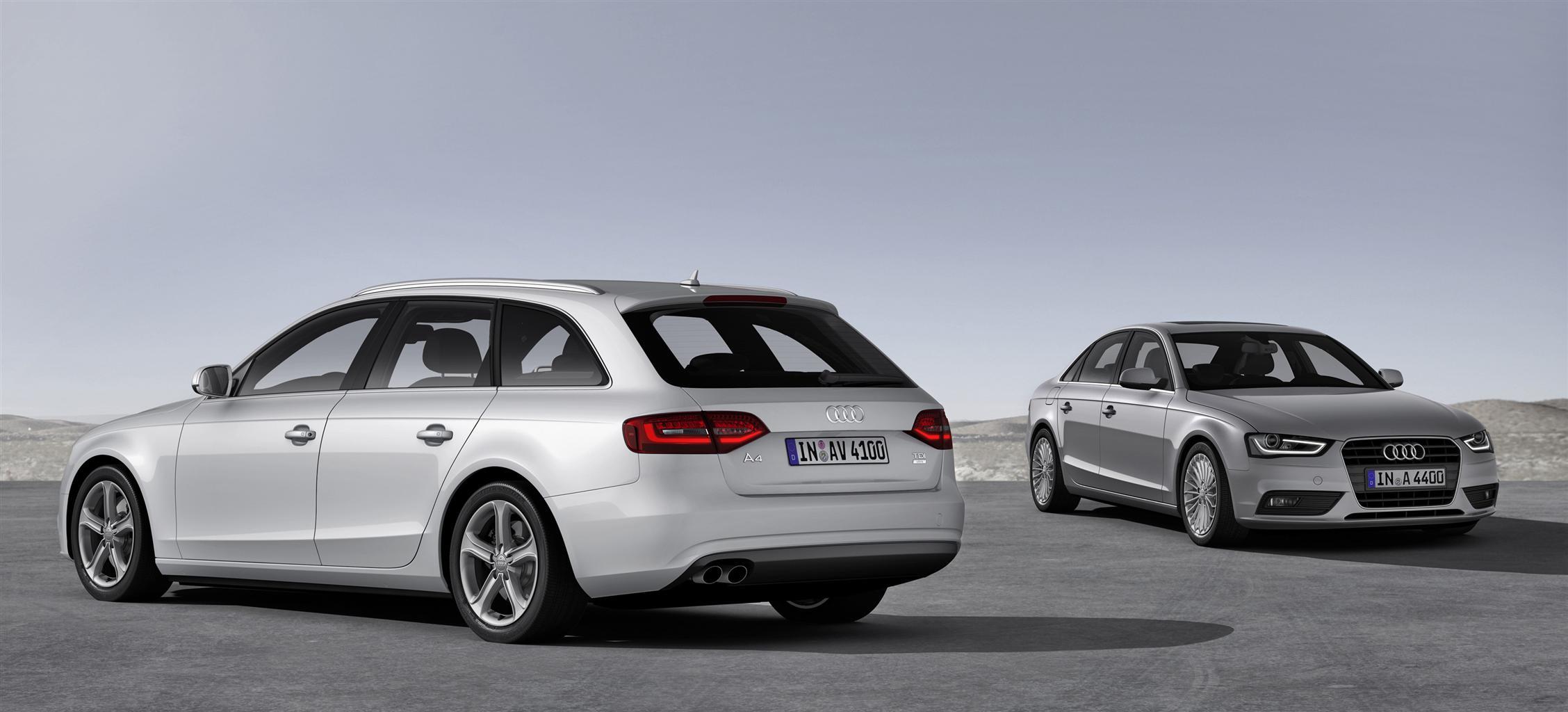 Audi A4 ultra e A5 ultra