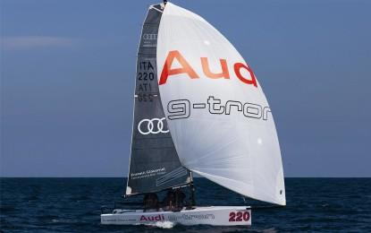 Audi tron Sailing Series debutto a Napoli