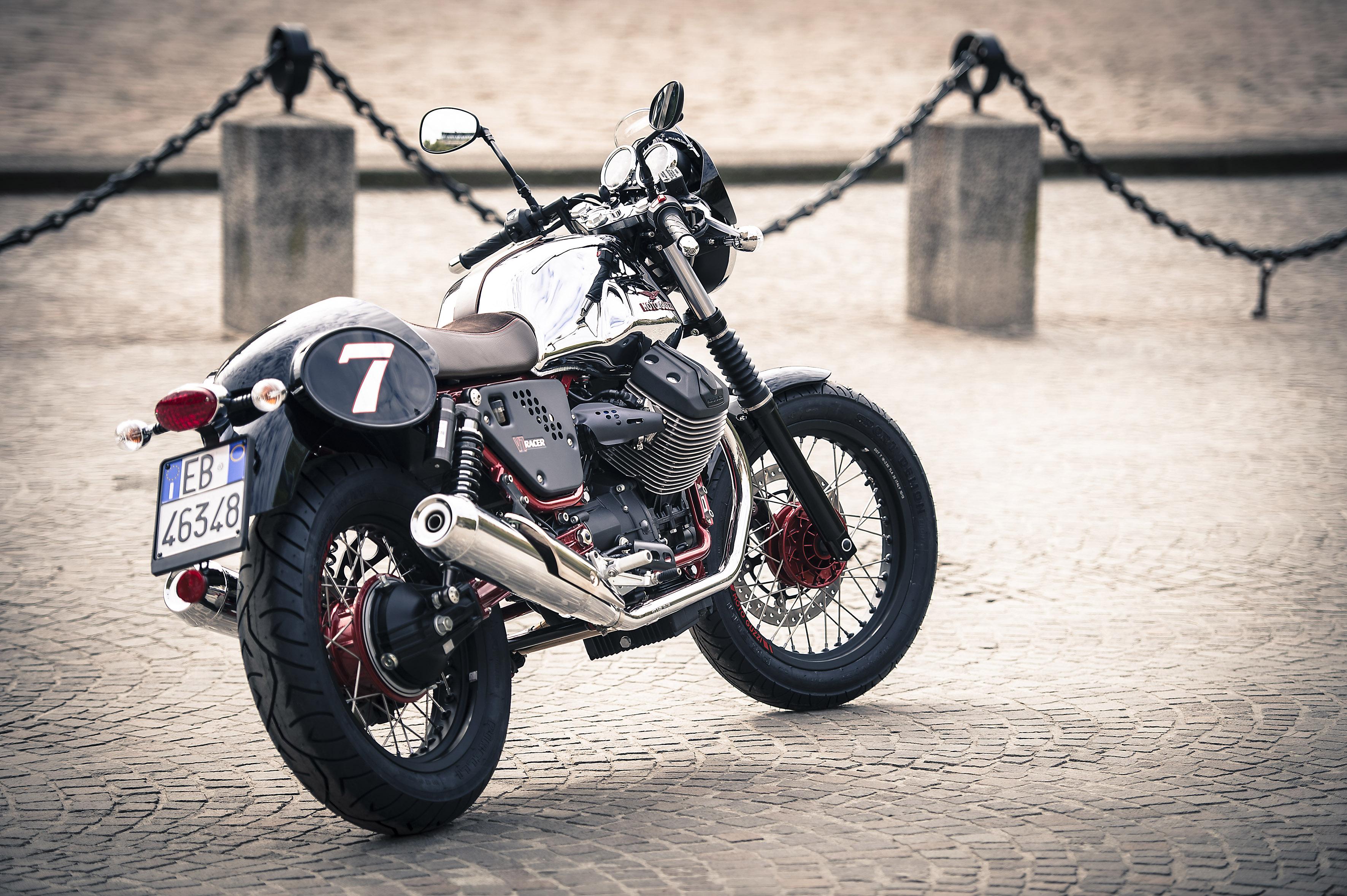 Moto Guzzi V7 MY 2014, ritocchi d'autore