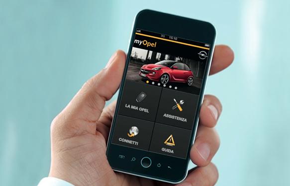 myOpel, la nuova app gratuita dedicata ai clienti Opel