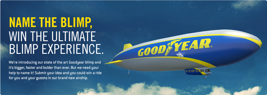 "Goodyear e il concorso ""Name The Blimp"""