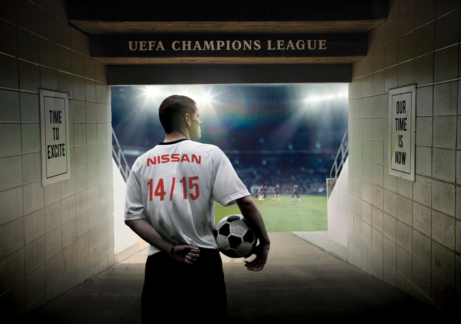 Nissan fa goal con la UEFA Champions League