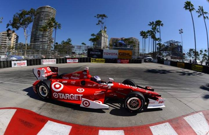 IndyCar di scena a Long Beach