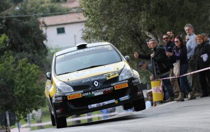 Clio e Twingo al 1° Rally Elba Internazionale
