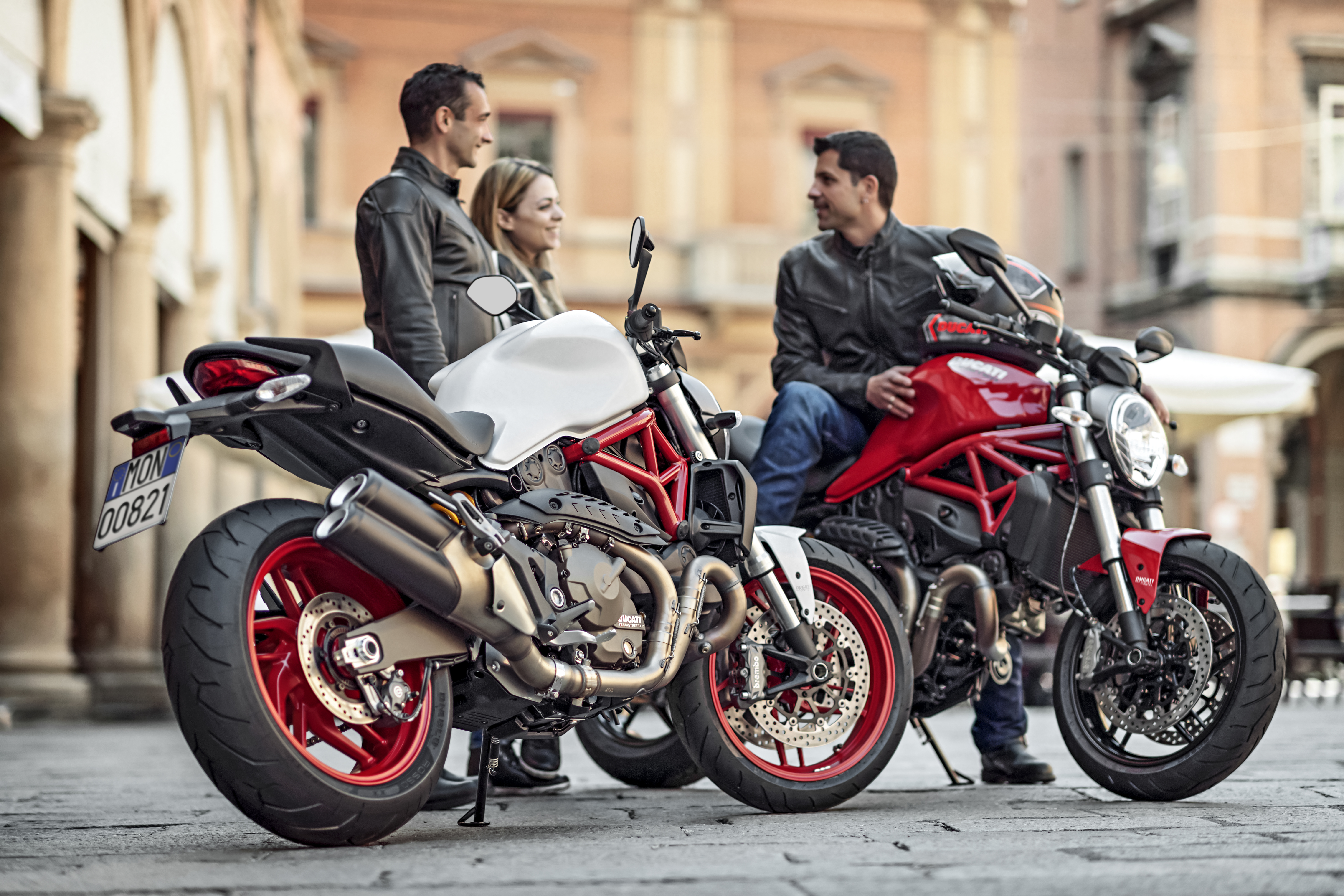 Nuovo Ducati Monster 821