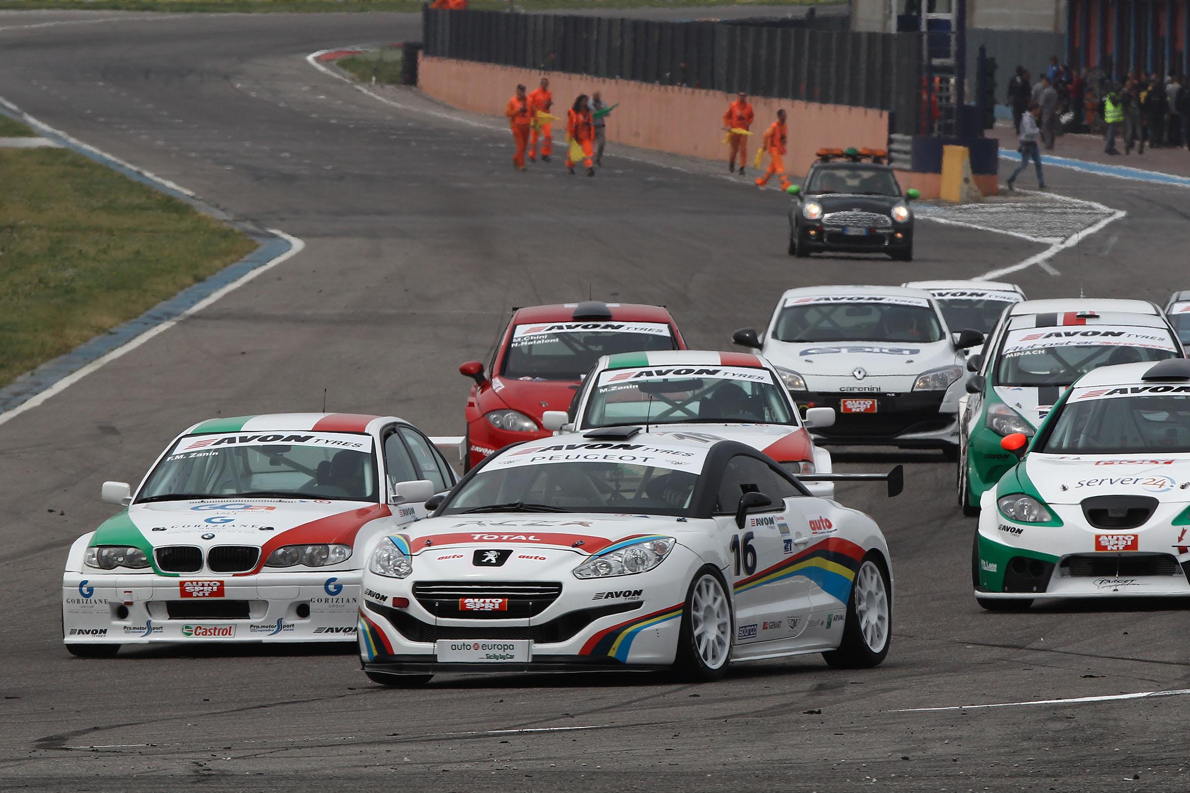 Peugeot RCZ raddoppia nell'Italiano Turismo Endurance