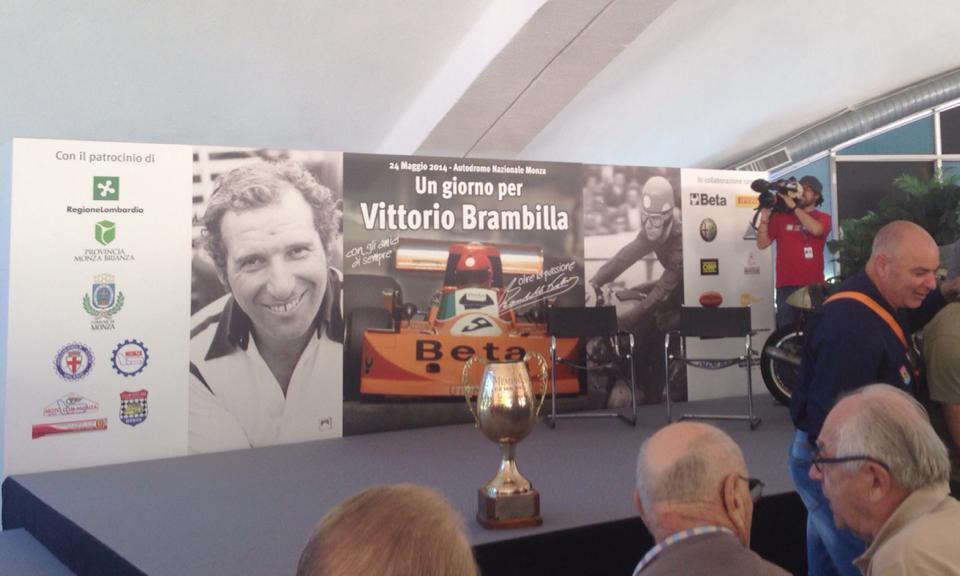 Tanti amici a Monza per Vittorio Brambilla