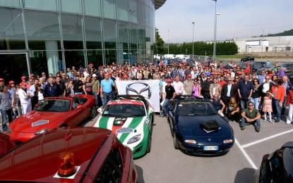 Mazda MX-5: raduno, anniversario e… la Excite