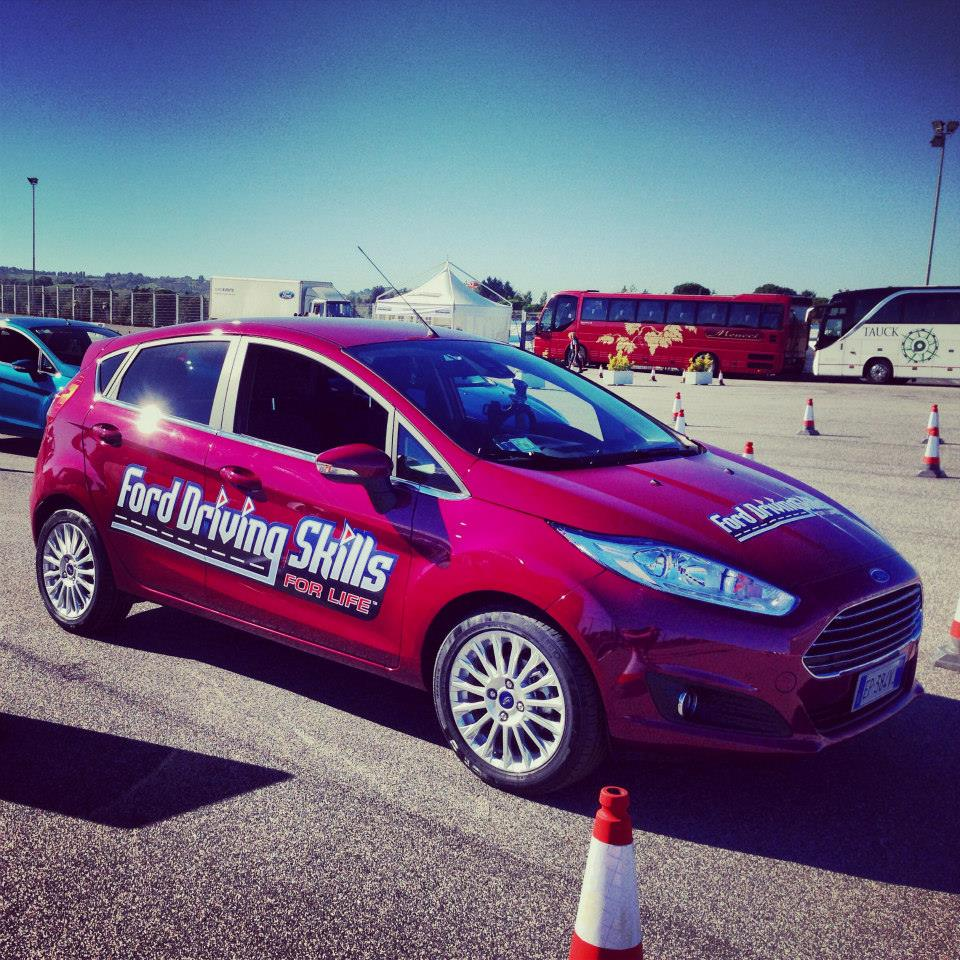 Ford e il programma 'Driving Skills For Life' 2014