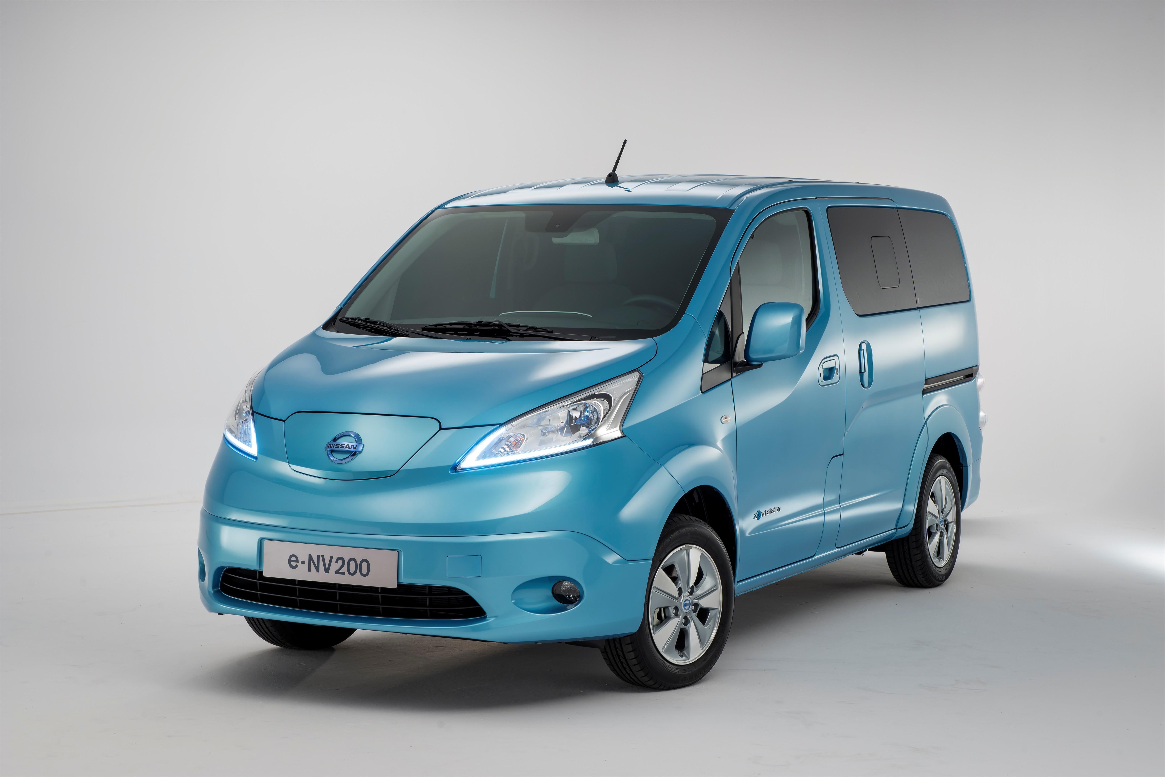 Nissan e-NV200: via alla produzione a Barcellona
