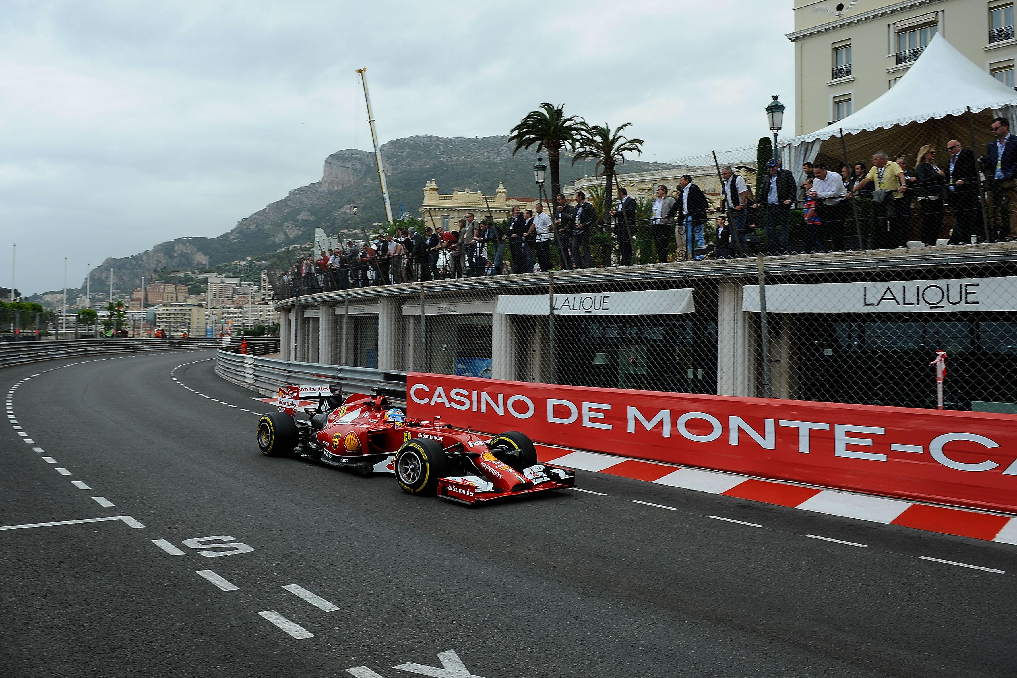 Monaco: seconde libere nel segno di Alonso