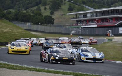 Ferrari Challenge: Gara 2 a Caso. Di Amato leader
