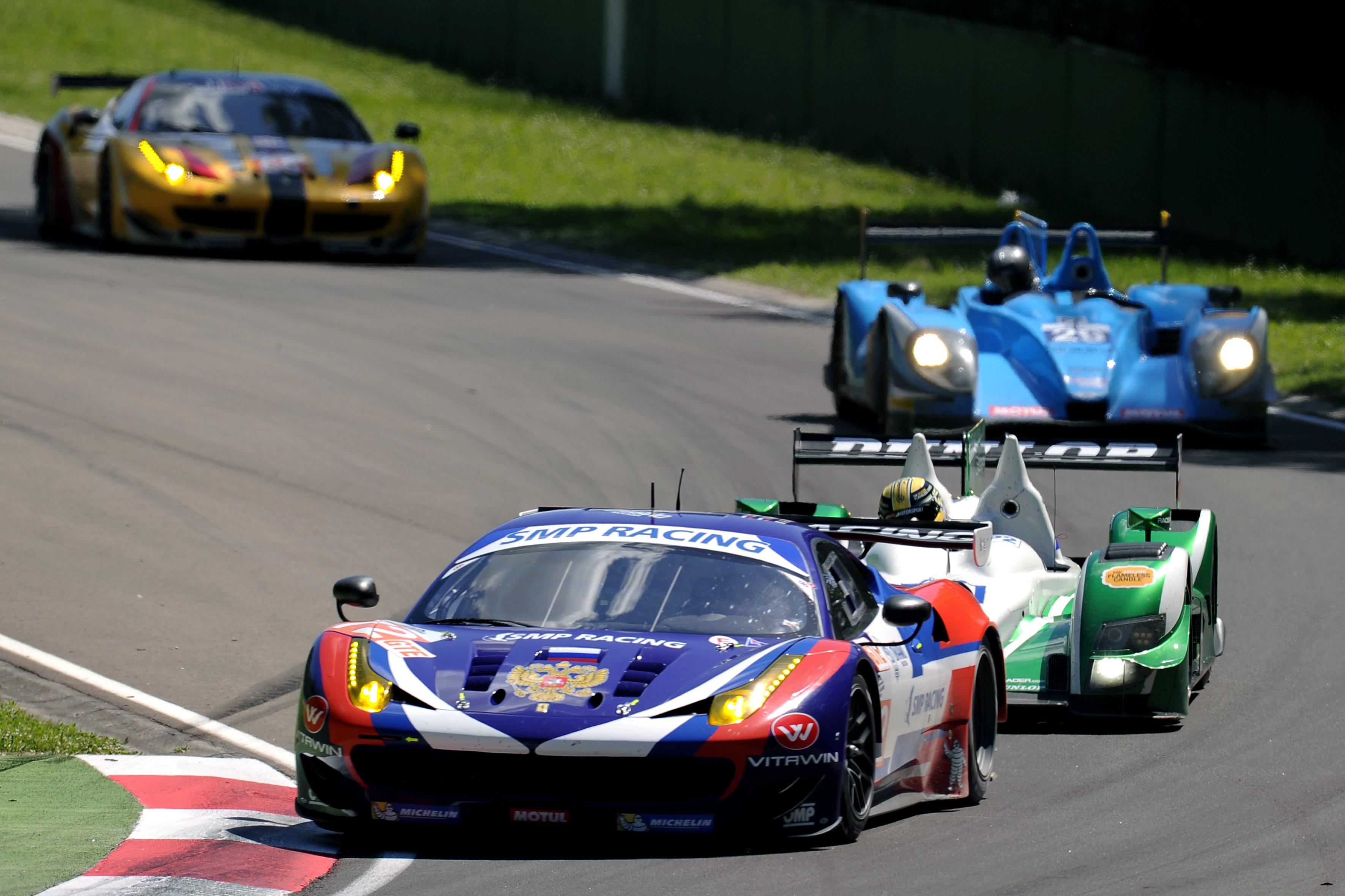 ELMS: apoteosi Ferrari a Imola