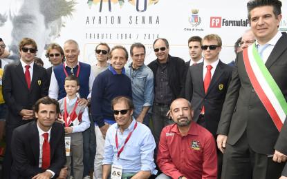 Fernando e Kimi a Imola per Senna e Ratzenberger