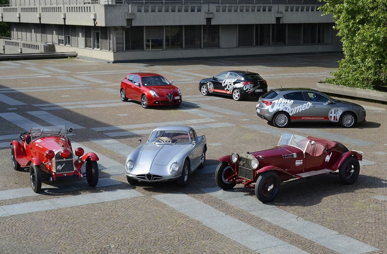 """Alfa Romeo alla """"Mille Miglia 2014"""""""