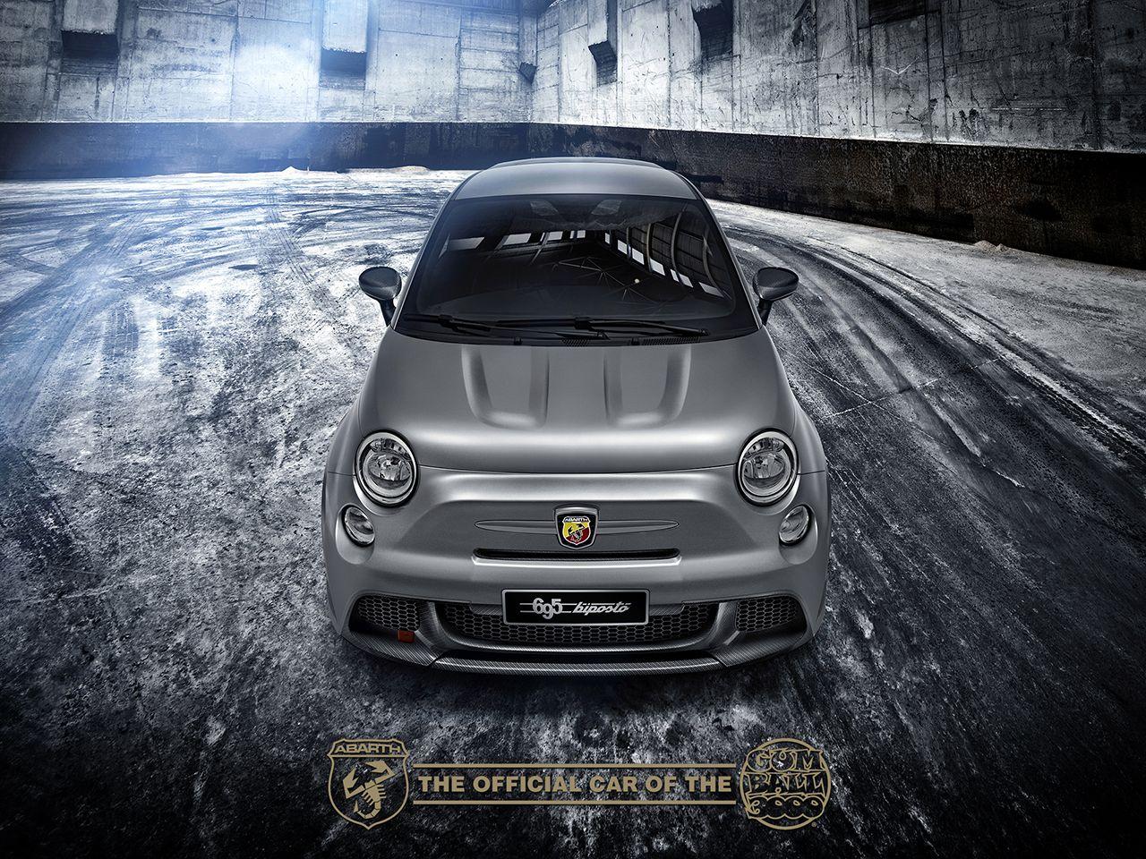 """Abarth 695 biposto auto ufficiale della """"Gumball 3000"""""""