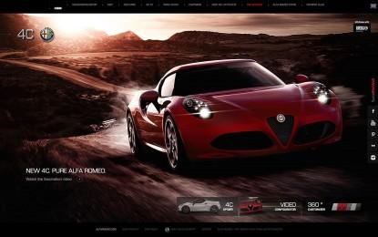 Alfa Romeo 4C vince il 15° Interactive Key Award