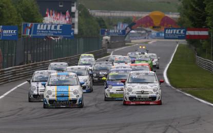 Trofeo Abarth: Austria, Gara 1 a Campani