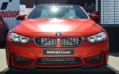 BMW M4 Coupé al poleman MotoGP 2014