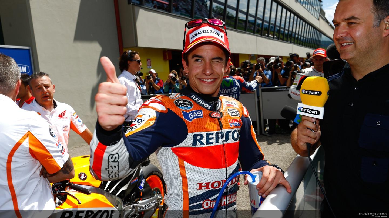 Sesta pole per Marquez, Iannone secondo