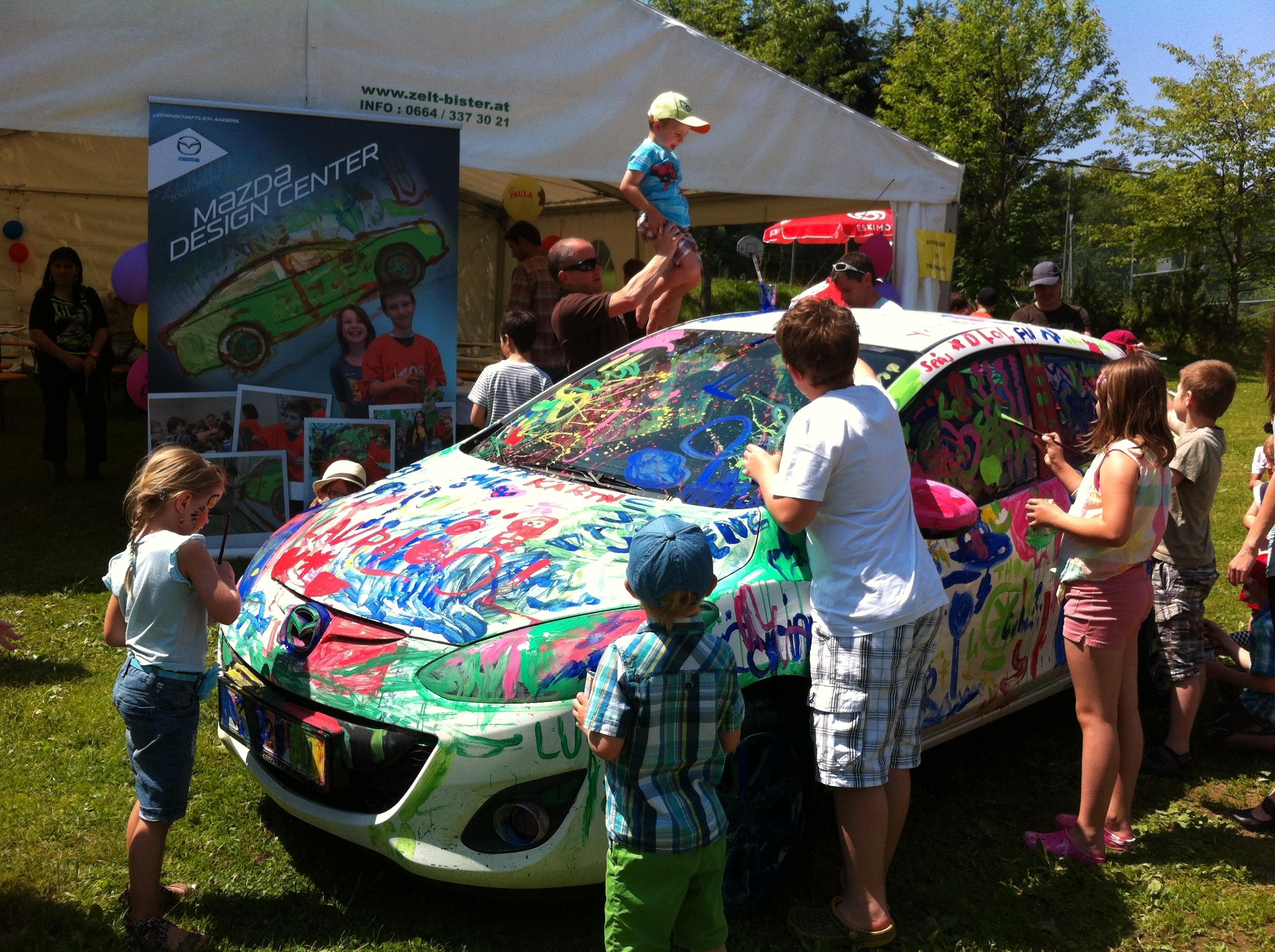 Mazda e il legame con SOS Children's Villages