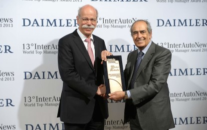 Dieter Zetsche world top manager 2013