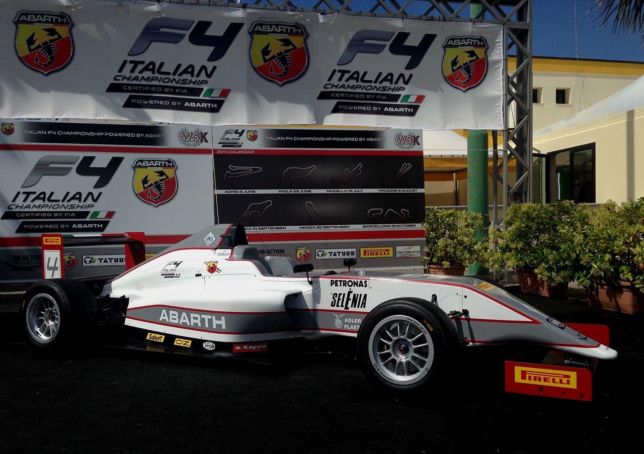 Italian F.4 Championship: primi test ufficiali ad Adria