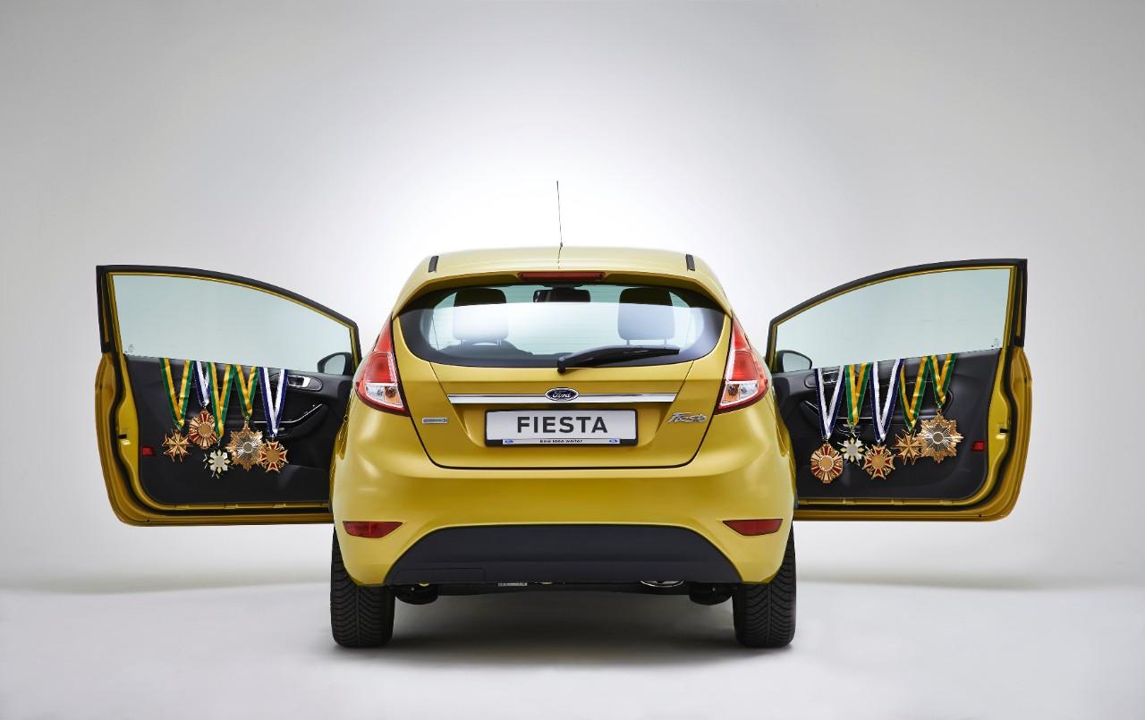 Ford Fiesta si conferma compatta più venduta d'Europa