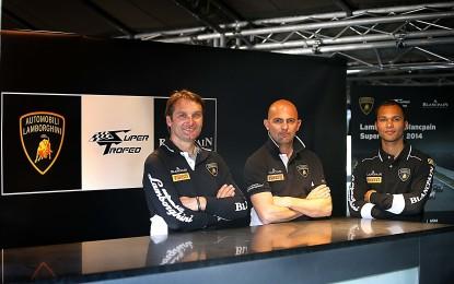 Lamborghini Squadra Corse: Babini e Zaugg nuovi test driver