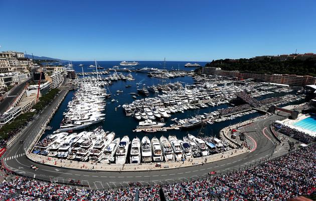 Monaco: la griglia di partenza