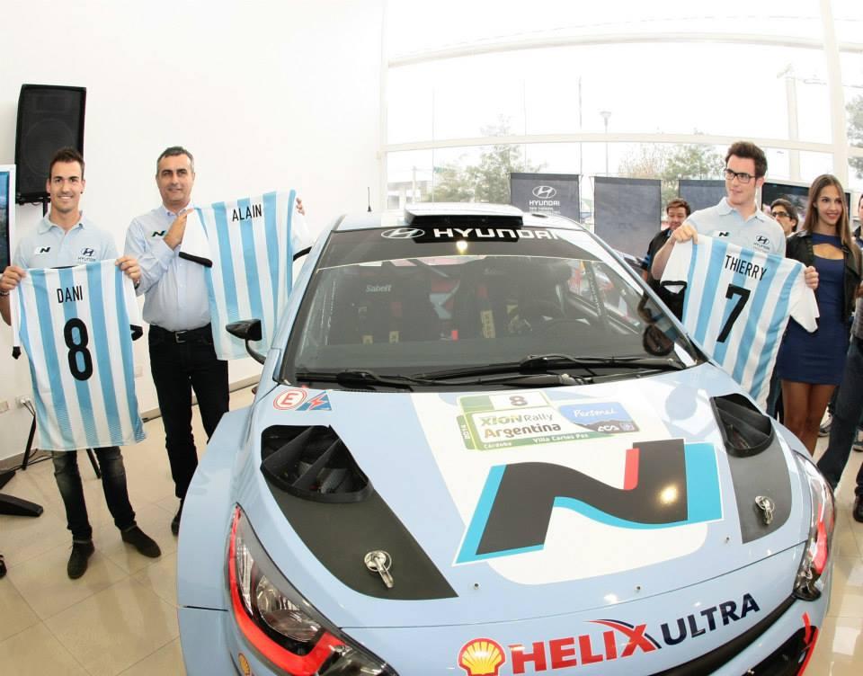 Hyundai Shell World Rally Team pronto per l'Argentina