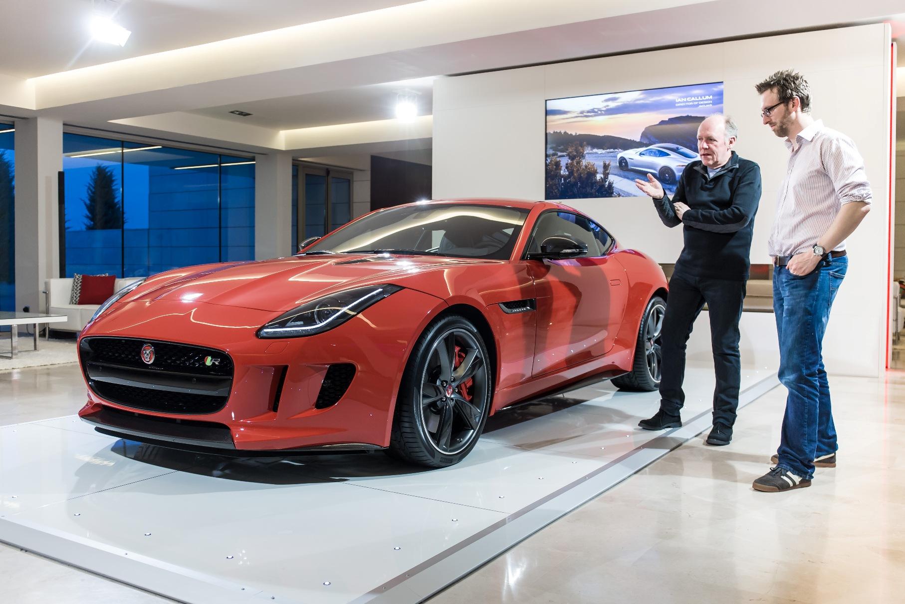 Jaguar F-TYPE Coupé visione d'artista