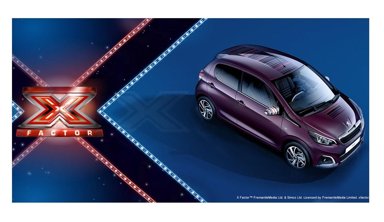Peugeot 108 ti porta a X Factor