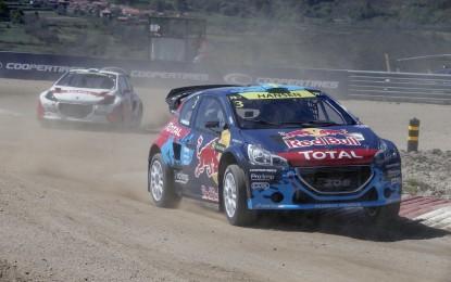 Rallycross: buon debutto della 208 T18 WRX
