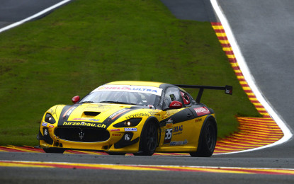 Maserati: Calamia e Kuppens svettano nelle qualifiche a Spa