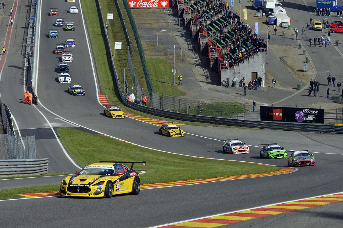 Trofeo Maserati: Swiss Team protagonista a Spa